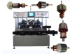5 Station Armature Balancing Machine with R Type Cutter Speed:1000-2000RPM