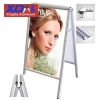 XD-J-D02 Aluminum alloy lightweight double-side A display frames poster stands flexible in design