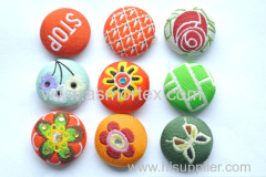 metal flower pearl snap button/Metal Button/Snap Button