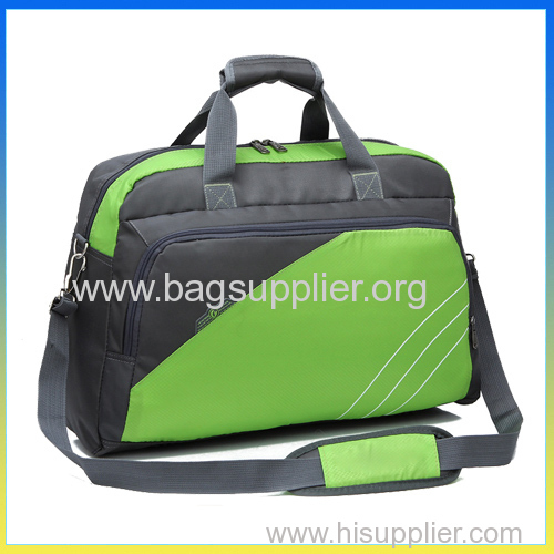 Korea style promotional journey bag ristop foldable travelling duffel bag