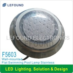 SGS CE approved wall-mounted led swimming pool light