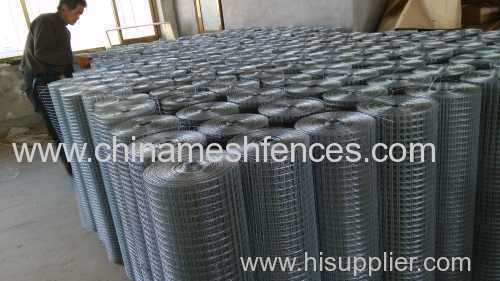 electro-galvanized welded wire mesh anping supplier