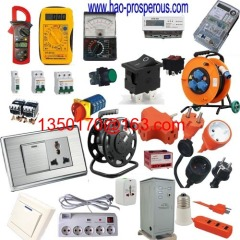 ammeter switch panel socket extenstion cord electric wire cable power supply circuit breaker