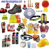 traffic safety fire equipment suit defense anti traffic cone flash light dust mask safety box