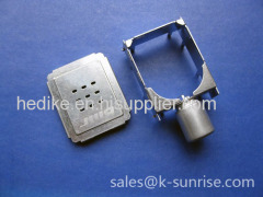 IEC connector shielding for set top box