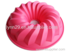 Bundt Silicone Fluted Pan for bakeware