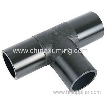 HDPE Butt Fusion Injection Equal Tee Pipe Fittings