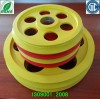 Aluminum alloy die casting storage wire pulley/wire drawing pulley/ belt pulley/pulleys