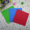 square and honeycomb shaped silicone hot pot pad