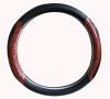 konlin new model-super fiber leather steering wheel cover