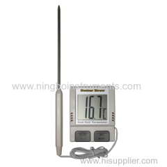 Digital hand held thermometer