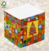 Christmas tree sticky memo cube