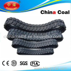 China link belt excavator,Hydraulic Mini Excavator Rubber Track links 450 *60*90