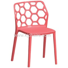 Cheap restaurant colored plastic dining chair