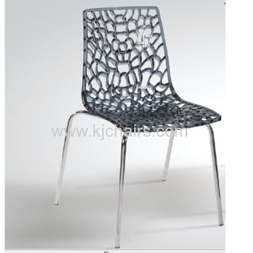 morden fabric acrylic crystal chair