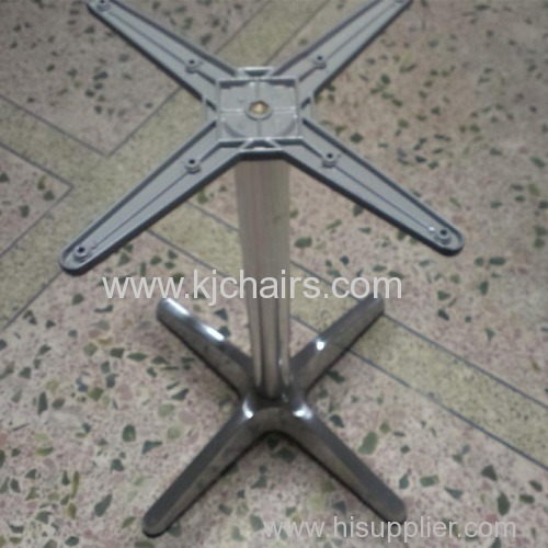 outdoor aluminum fast food table base