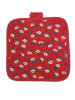 flower red Pot holder