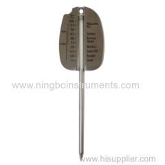 Meat Thermometer; Glass Meat Thermometer