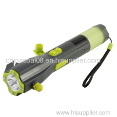 Car Emergency Hammer with Flashlight
