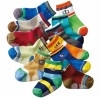 Children sock with point printed
