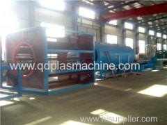 PE insulation and anti-corrosion pipes extrusion machine