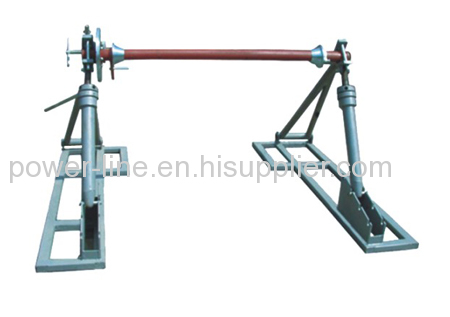 Hydraulic Conductor Reel Stand Drum Elevator with drum brake