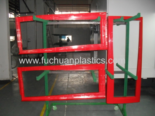 Commercial freezers injection molding under cover