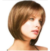 Fashion Wig beautiful women party wig human hair lace 100% quality
