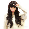 Cute Wave-Style Fashion Wig beautiful women party wig human hair lace 100% quality