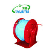 Hand operated hose reel