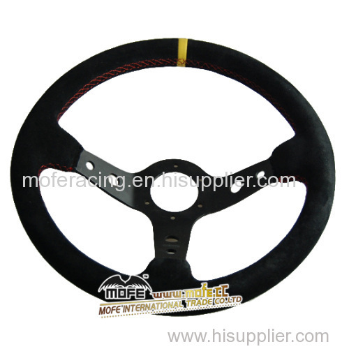 suede Drifting steering wheel