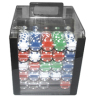 1000pcs poker chip set in acylic case china suppliers