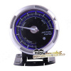 60MM ponk model white lcd backlight air fuel ratio gauge with With Sensor Black Dial