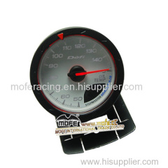 Digital 60 mm white face oil temp gauge