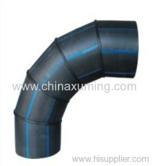 HDPE Butt Welding 90 Degree Elbow With Five Segments Fittings