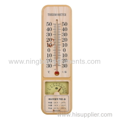 Dry & wet thermometer