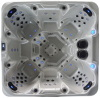 7 persons Balboa control jacuzzi hot tub