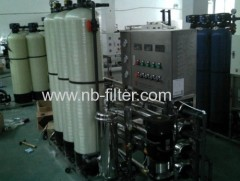 1 TPH Commercial Reverse Osomosis Water Treatment System