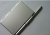 Card Holder With Note & Pen Promotional / Aluminum Note Book