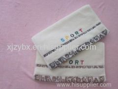 100% Cotton Hotel Bath Towel Plain Dyed