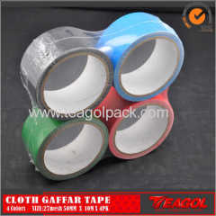 27mesh Cloth Cotton Tape 4Colors Size: 50mm x 10m x 4PK