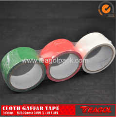 27mesh Cloth Cotton Tape 3Colors Size: 50mm x 10m x 3PK