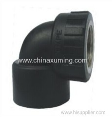 HDPE Socket Fusion Female Elbow Pipe Fittings