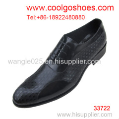 The highest fashion leather men dress shoes