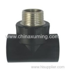 HDPE Socket Fusion Male Tee Pipe Fittings