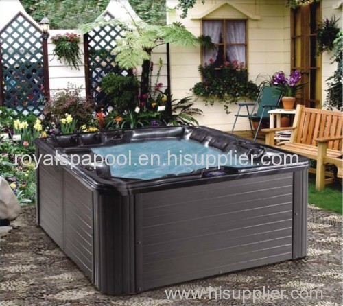 hot spring outdoor hot tub for 5 persons