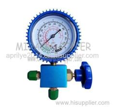 A/C Refrigeration Aluminum Single Gauge Valve