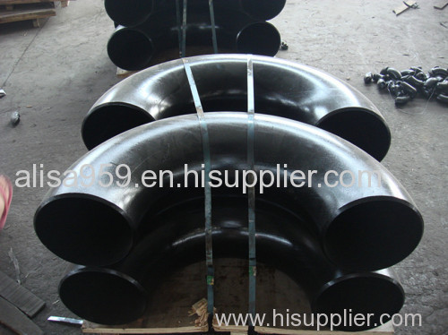 180deg carbon steel seamless elbow