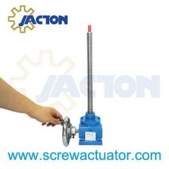 hand wheel screw jacks, hand operated screw jack, screw hand locking jack, table hand jack screw