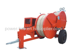 Hydraulic Tensioner for 2 bundle Conductor Stringing Operation